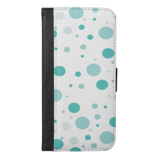 Adorable Polka Dots Pattern iPhone 6/6s Plus Wallet Case