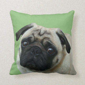 Adorable Pug American MoJo Pillows