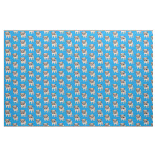 8f900358119 Adorable Pug Puppy Fabric