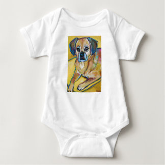 Adorable PUGGLE Baby Bodysuit