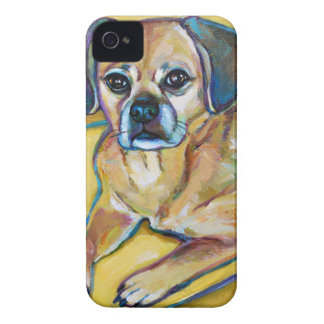 Adorable PUGGLE iPhone 4 Cover