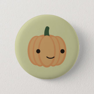 Adorable Pumpkin 2 Inch Round Button