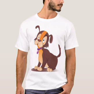 Adorable Puppy Mens T-Shirt