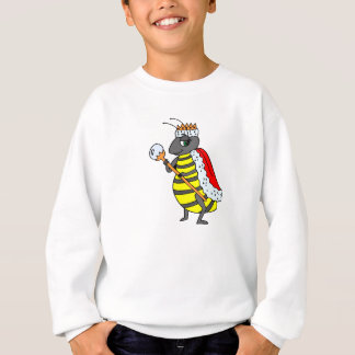 Adorable | Queen Bee Cartoon Sweatshirt