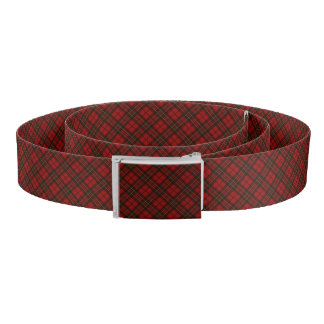 Adorable Red Christmas tartan Belt