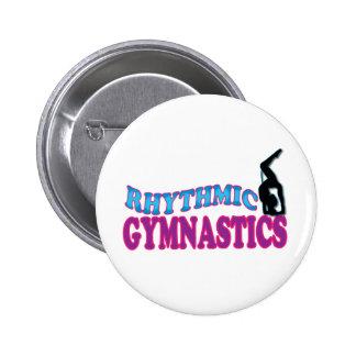 Adorable Rhythmic Gymnastics Gifts 2 Inch Round Button