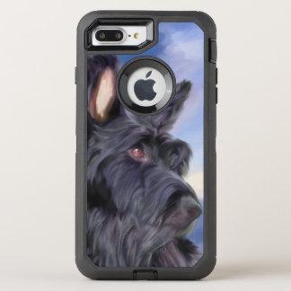 Adorable Scottish Terrier Dog OtterBox Defender iPhone 8 Plus/7 Plus Case