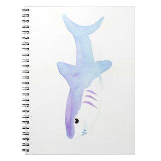 Adorable Shark Notebook