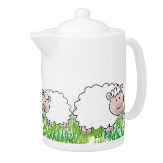 Adorable Sheep Teapot