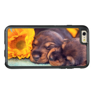 Adorable sleeping Doxen puppies OtterBox iPhone 6/6s Plus Case