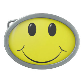 adorable smiley belt buckle