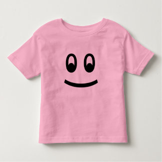 Adorable Smiley Face Design Toddler T-shirt