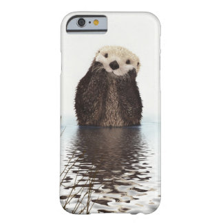 Adorable Smiling Otter in Lake Barely There iPhone 6 Case