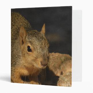 Adorable Squirrel Vinyl Binders