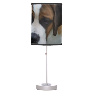Adorable St Bernard Table Lamp