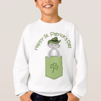 Adorable St. Patrick's Day Cat Tees and Gifts