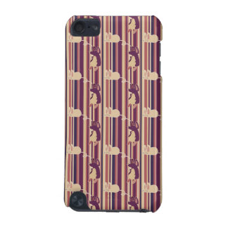 Adorable Striped Mouse Pattern iPod Touch (5th Generation) Case