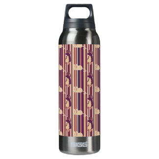 Adorable Striped Mouse Pattern SIGG Thermo 0.5L Insulated Bottle