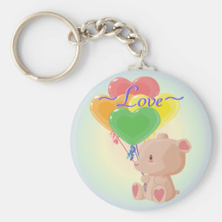 Adorable Teddy Bear Keychain