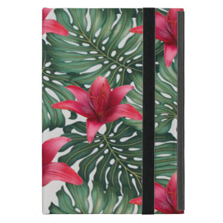 Adorable Tropical Palm Hawaiian Hibiskus Cover For iPad Mini