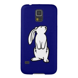 Adorable White Bunny Rabbit Galaxy S5 Cases