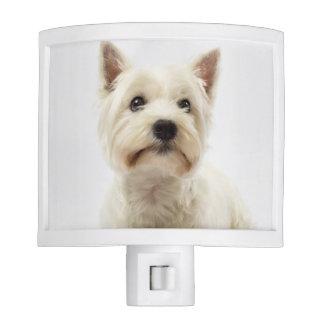 Adorable White West Highland Terrier Night Light