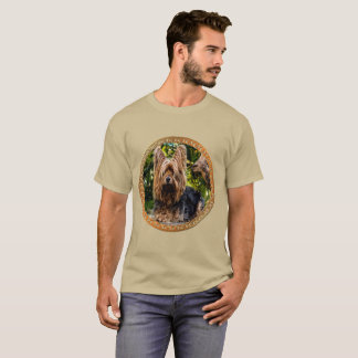 Adorable Yorkshire brown and black terrier T-Shirt