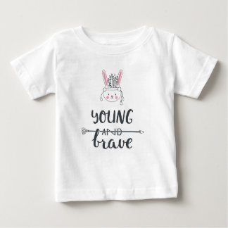 "Adorable ""Young & Brave"" Native American T-Shirt"