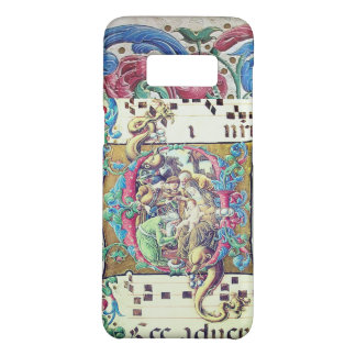 ADORATION OF MAGI , NATIVITY MONOGRAM WITH DOLPHIN Case-Mate SAMSUNG GALAXY S8 CASE