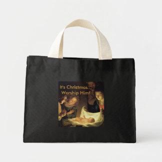 Adoration of the Child Christmas Bag
