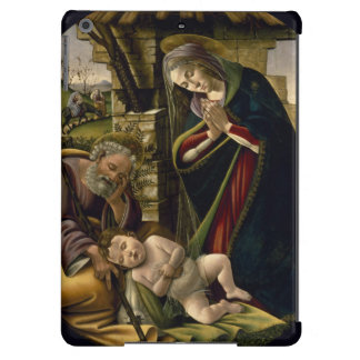 Adoration of the Christ Child by Botticelli iPad Air Cover