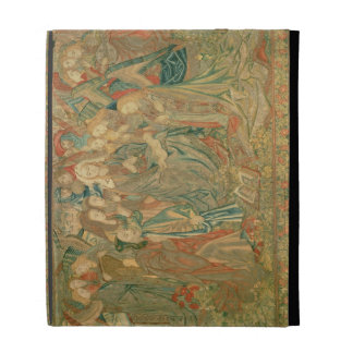 Adoration of the Christ child  (Tapestry) iPad Case