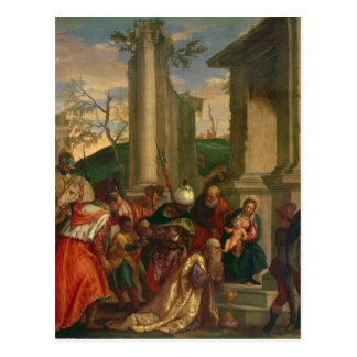 Adoration of the Kings Postcard