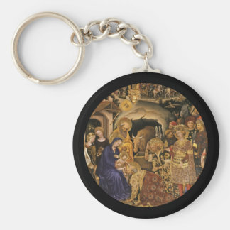 Adoration of the Magi 14th century Keychain