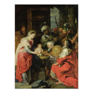 Adoration of the Magi, 1626-29 Poster
