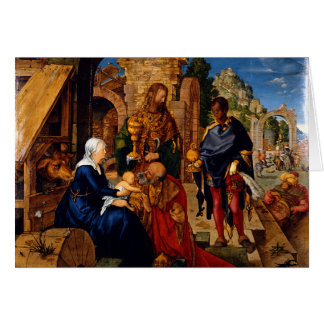 Adoration of the Magi by Albrecht Dürer, 1504AD Card