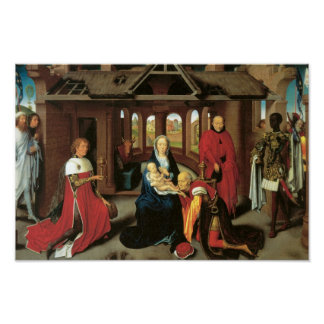 Adoration of the Magi, c. 1470 Posters