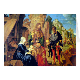 Adoration of the Magi Christmas Card
