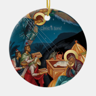 Adoration of the Magi Christmas Ornament