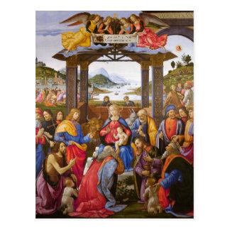 Adoration of the Magi Ospedale degli Innocenti Postcard
