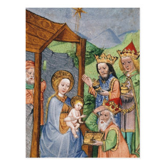 Adoration of the Magi Postcard