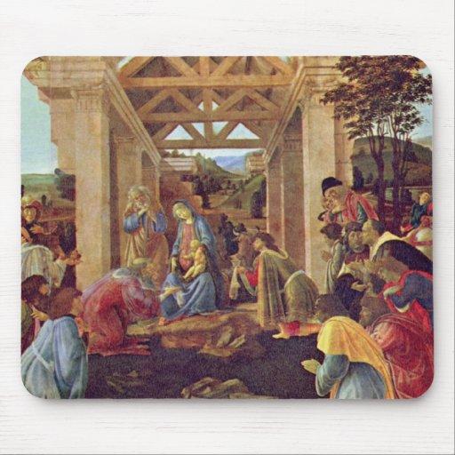 Adoration of the Magi (Washington) by Botticelli Mouse Pad