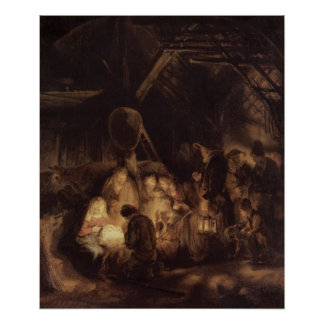 Adoration of the Shepherds, 1646 Print