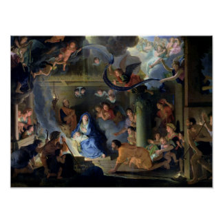 Adoration of the Shepherds, 1689 Poster
