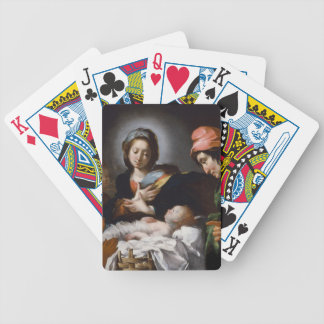 Adoration of the Shepherds 17th Century Bicycle Playing Cards