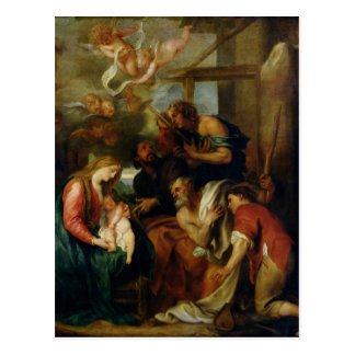 Adoration of the Shepherds 2 Postcard