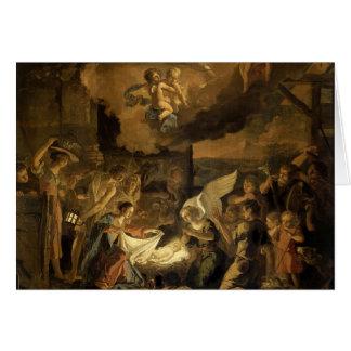 Adoration of the Shepherds Fine Art Christmas Card