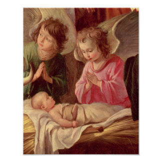 Adoration of the Shepherds Poster