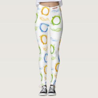 Adore circle decor leggings