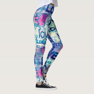 Adore womens love struck leggings
